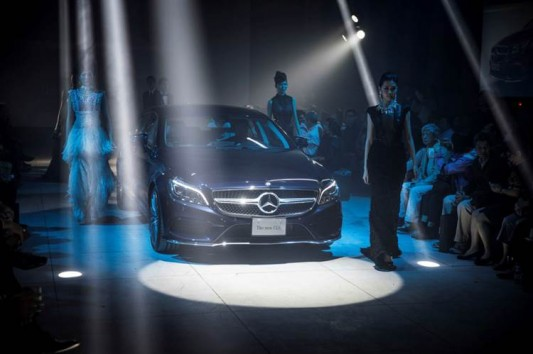 BENZ CLS LAUNCH