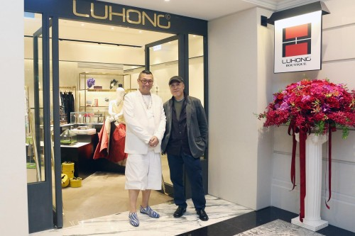 LuHong Couture officially opens shop in Mandarin Oriental on May 30, 2015.